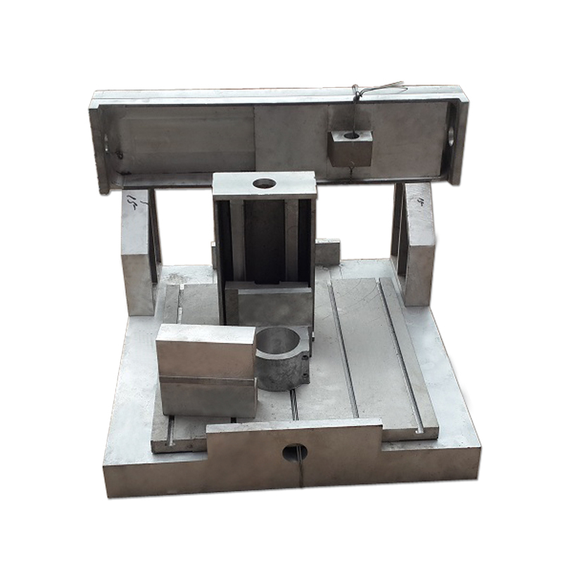 aluminum Engraving Machine Frame 4040 <font><b>6060</b></font> for DIY <font><b>cnc</b></font> wood <font><b>Router</b></font> Spindle fixture 80mm image