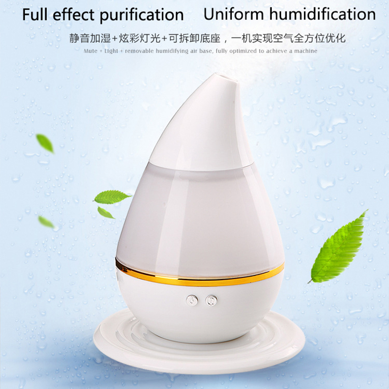 Mini Portable Mist Maker Aroma Essential Oil Diffuser Ultrasonic Aroma Humidifier White USB Diffuser For Car Home Office