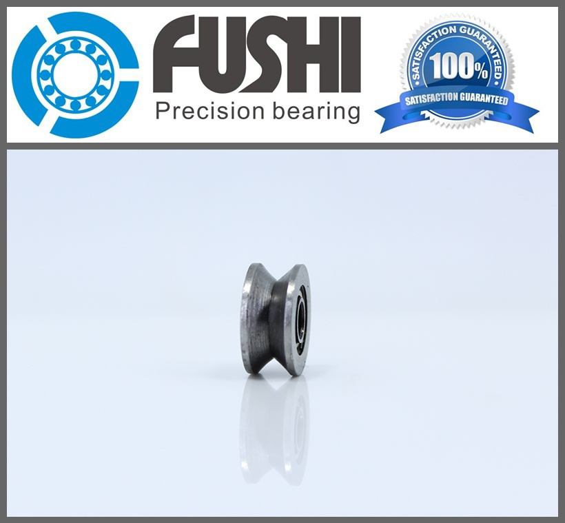 High Carbon Steel V624ZZ (20 Pcs) V Groove Sealed Ball Bearing 624VV Guide Track Roller Bearing V624 Embroidery Machine Bearing new high quality 4pcs set u groove pulley ball bearing white pom high carbon steel slide flexible ball bearing 6 model choice