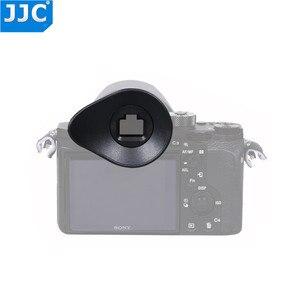 Image 2 - JJC EyeCup mercek SONY A7R IV A7R III A7 III A7 II A7S II A7R II A7R A7S A7 a58 A99 II A9 II kamera değiştirir Sony FDA EP16