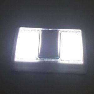 Image 3 - 磁気超高輝度ミニcob ledウォールライトスイッチ夜の光ワイヤレスのために運営ガレージ寝室のクローゼット2018