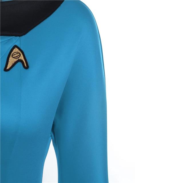 High Quality Star Trek Female Uniform Dress  Cosplay Costume  5