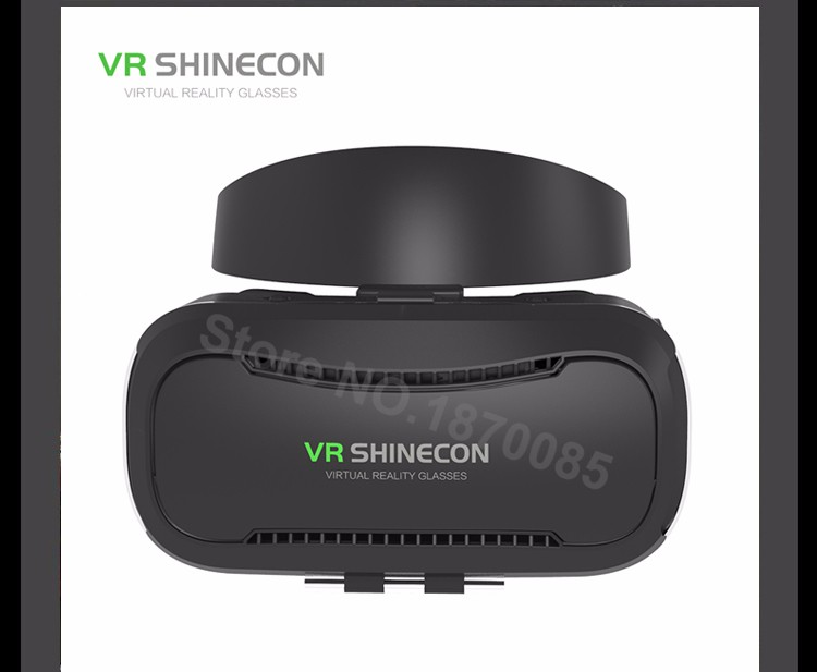 Newest VR Shinecon 4.0 Google cardboard VR BOX with Headphone VR Virtual Reality 3D Glasses PK Z4 For 4.5-6.0 inch Smartphone (16)