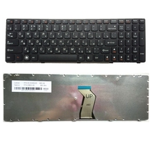 RU  FOR LENOVO  G580 Z580A G585 Z585 V580 G590 black New Laptop Keyboard Russian