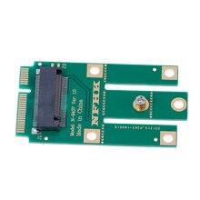 Для Wi-Fi Bluetooth беспроводная карта A+ E ключ A ключ M.2 NGFF беспроводной модуль к мини PCIE адаптер