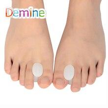Demine Silicone Gel Toe Separator for Corrective Hallux Valgus Thumb Overlapping Repair Bone Protector Orthopedic Insert Pads