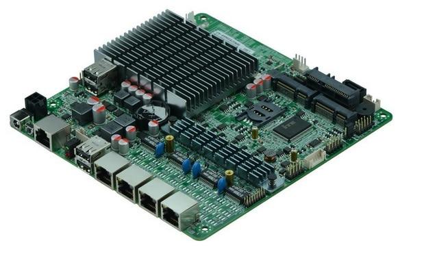 With 4 Intel 82583V Gigabit LAN controllersIntel baytrail J1900 fanless Quad core mini PC/Server motherboard j1900 4 lan ports motherboard quad core q1900g4 m