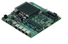 С 4 Intel 82583 В Gigabit LAN controllersintel baytrail J1900 безвентиляторный Quad core mini PC/Сервер материнских плат
