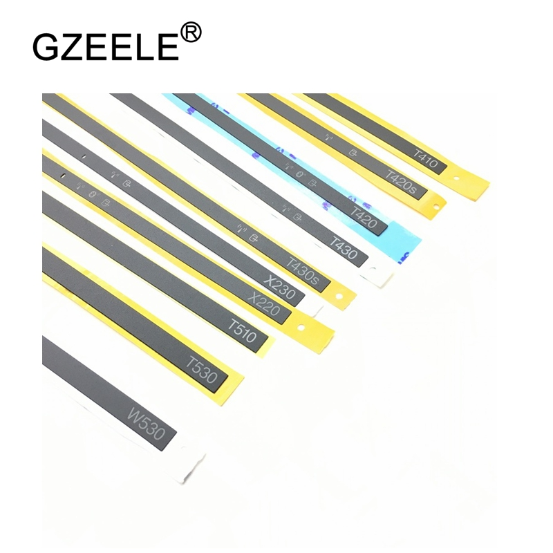 GZEELE for Lenovo ThinkPad X201 X220 X230 T420 T430 T430S T510 W510 W520 x200 LED Light Indicator Blue Tooth Cover LCD Sticker