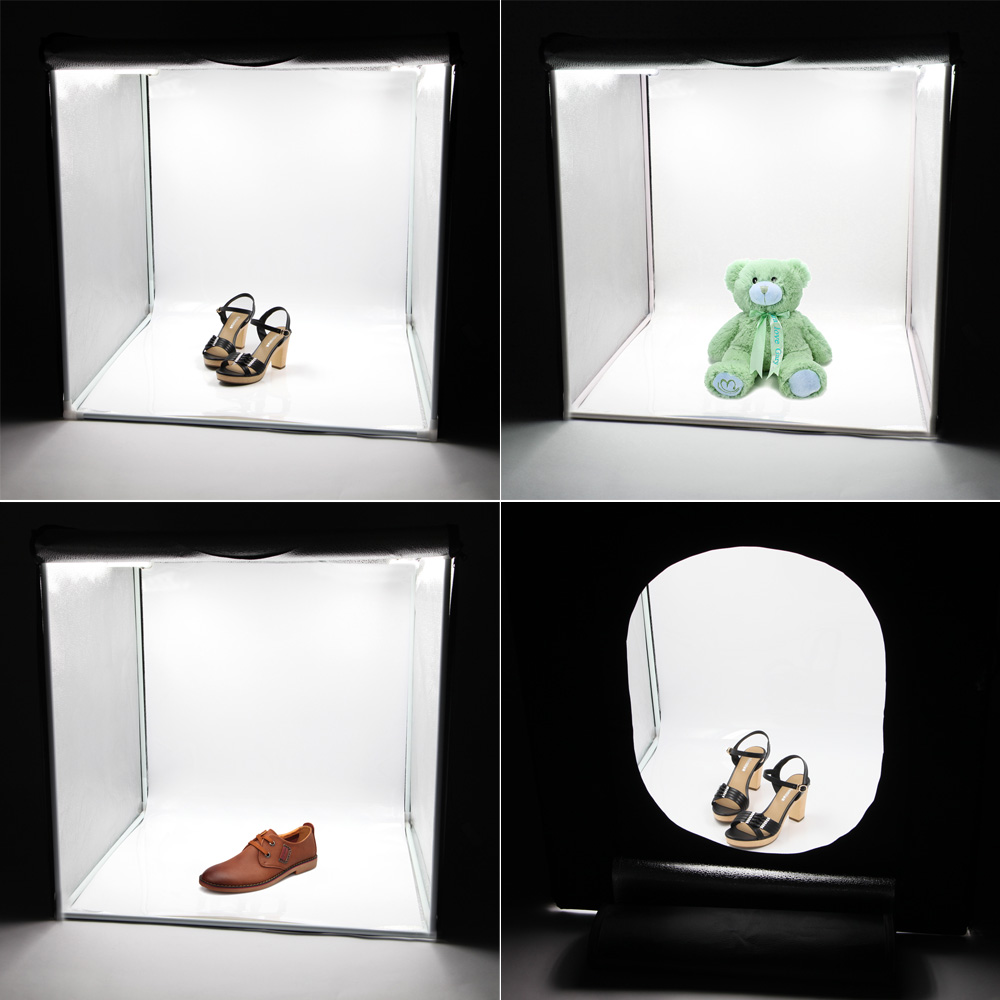 42cm LED Photo Studio Video Lighting Tent with LED Light
