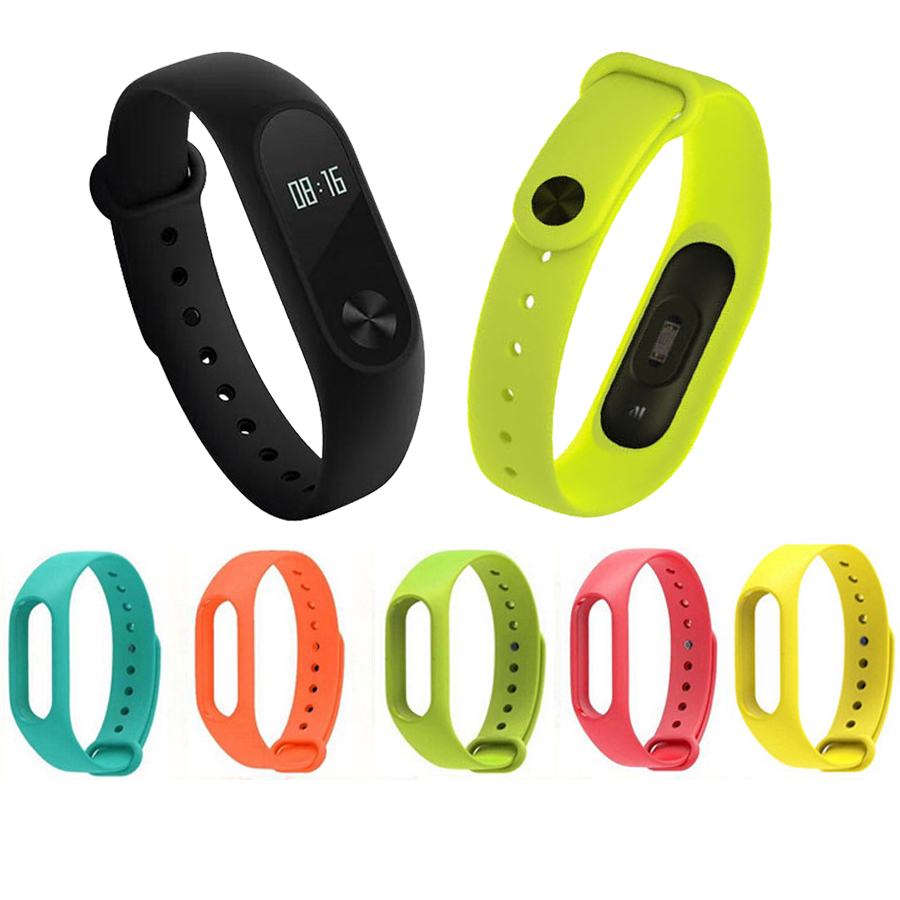 For Mi Band 2 Silicone Strap Bracelet Accessories pulseira for Mi band 2 Replace Wriststrap for Xiaomi Mi Band 2 Smart Bracelet