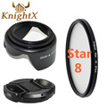 KnightX MC UV Lens nd dslr accessories digital camera filter for Canon t5i  600d 1100d Nikon d60 d7000 d7100 d5300  67 mm 58mm
