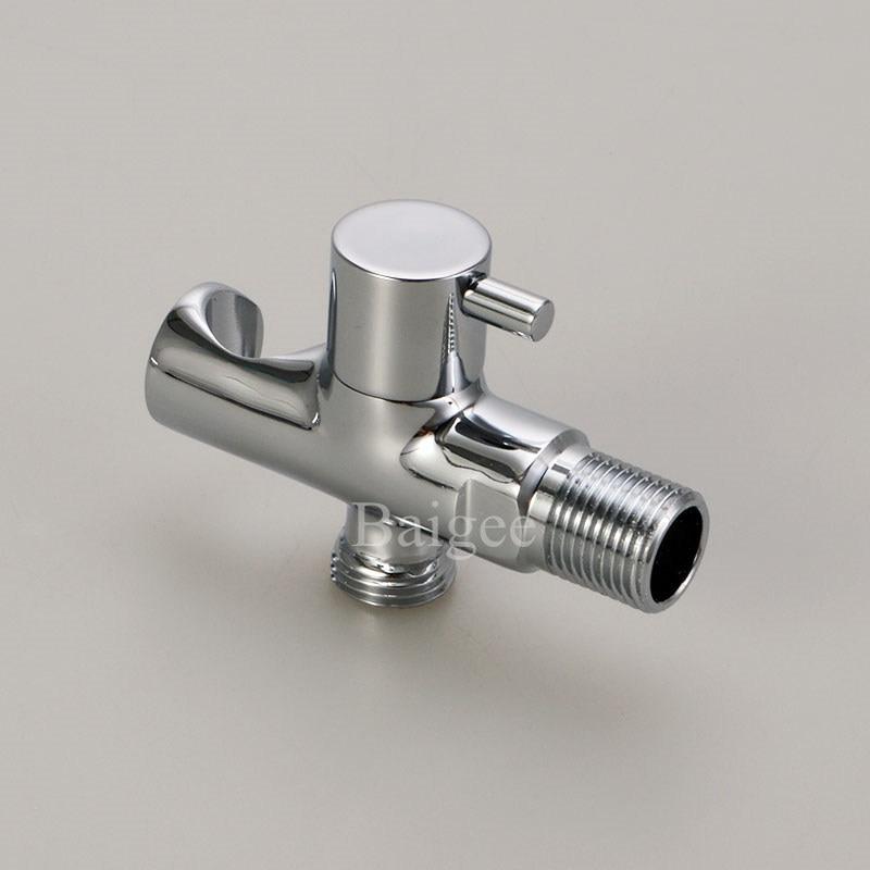 Hot Sale Bathroom Angle Valve With Holder For Toilet Sink Basin
