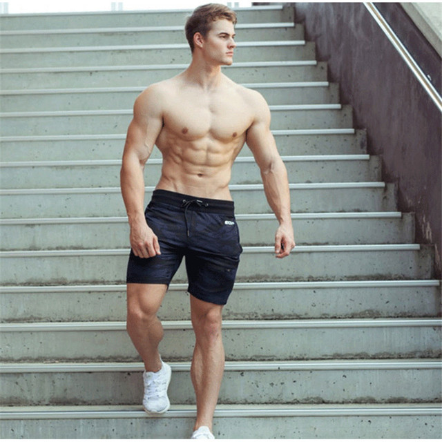 Bodybuilding Sweatpants Fitness Shorts  4