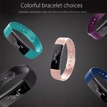 Sporch ID115 Smart Bracelet Sport Bracelet Fitness Tracker Watch Alarm Clock Step Counter Smart Wristband Band Sport Smartband