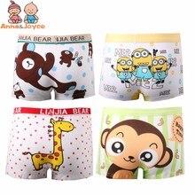 Baby Panties Kids Boxer Kawaii Briefs Cartoon Soft Boys for 2-10yrs 6pc/Lot Breathable