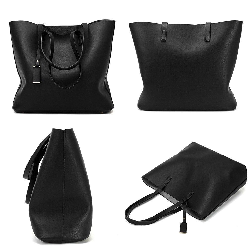 3 pièces mode sac à bandoulière en cuir perles couleur Pure fermeture éclair & moraillon sac à bandoulière téléphone sac pour femmes filles bolsa feminina # P