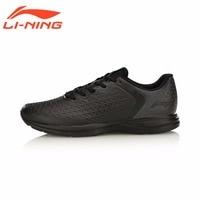 Li-Ning Men's Light Weight Running Shoes EZ RUN Series Anti-Slippery LiNing Sports Shoes Breathable Sneakers ARBM053