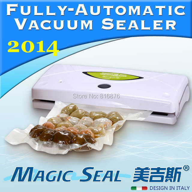 Magic Seal Home Vacuum Sealer/Houldhold FoodSaver/Portable Vacuum Machine/Food Preservation system BEST PRICE WITH LOW SHIPPING!