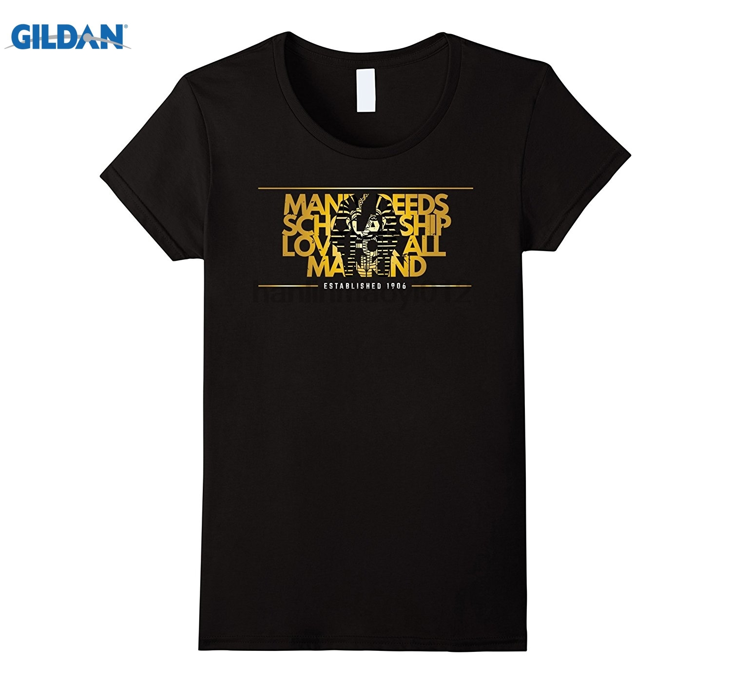 GILDAN Alphas Ice Cold - Principles 1906 Manly Deeds, Scholarship Womens T-shirt