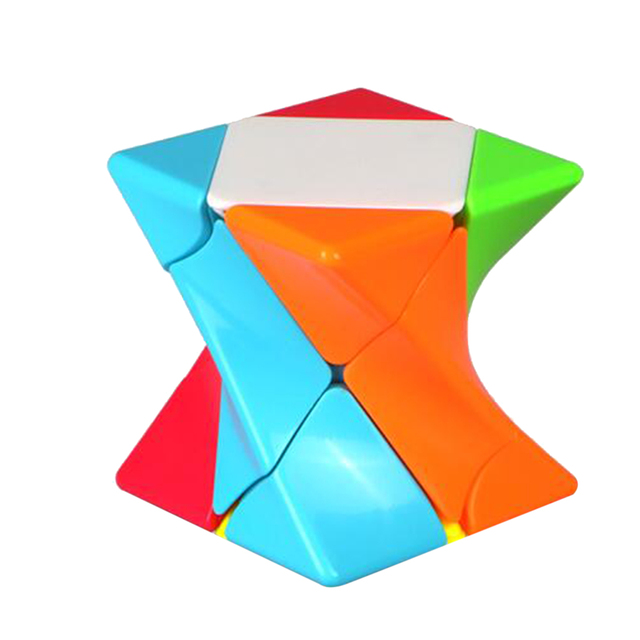 QiYi Mofangge Torsion Magic Cube Puzzle Toy for Competition - Colorful Base