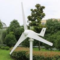 Новый дизайн! Генератор ветровой турбины 400 Вт 12 в 24 В макс 600 Вт CE RoHS одобренный ветрогенератор подходит для домашнего или морского использо