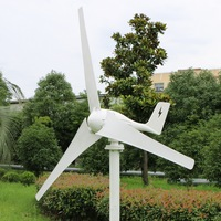 New design !!! Wind Turbine Generator 400W 12V 24V MAX 600W CE RoHS Approved wind generator fit for Home or Marine Use