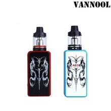 VANNOOL 100% оригинал 100 Вт дым электронная сигарета Kit 3000 мАч электронных сигарет набор с зарядка через usb кабель
