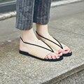 2016 Рим летние женщины Плоские мягкое дно стринги sipper гладиатор сандалии крест ремешок PU простой девушки дизайнер Пляжные сандалии обувь