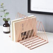 Luxury Geometry Bookshelf Metal 2 Colors