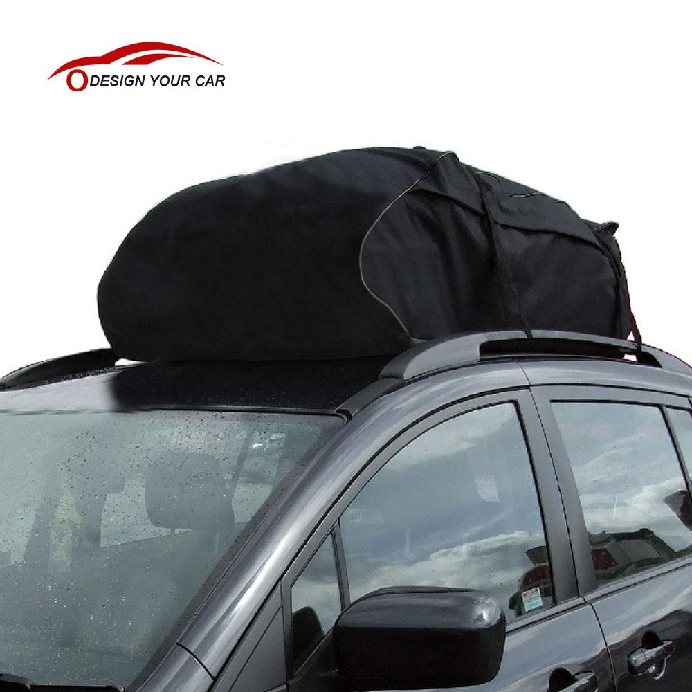Universal Car Roof Top Bag Rack Cargo Carrier Luggage Storage Travel Waterproof Touring SUV Van