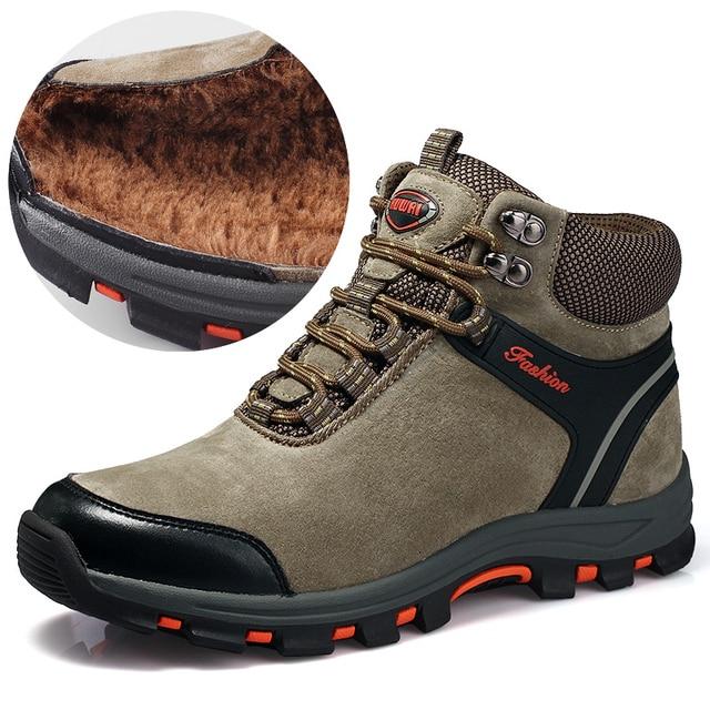 K-TUO Musim Dingin Tahan Air Hiking Sepatu Pria Sepatu Mendaki Gunung Luar  Sepatu Olahraga 33a6835c0f