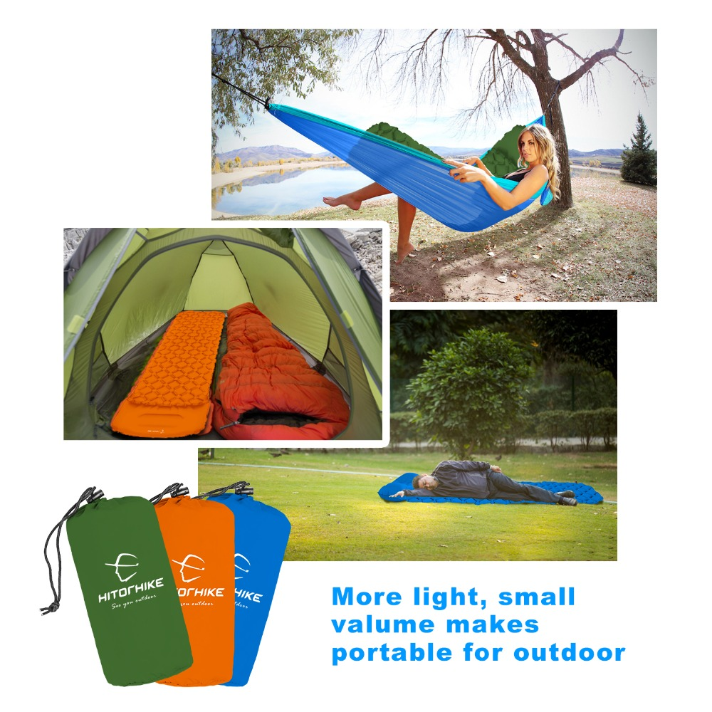 Square sleeping pad with pillow