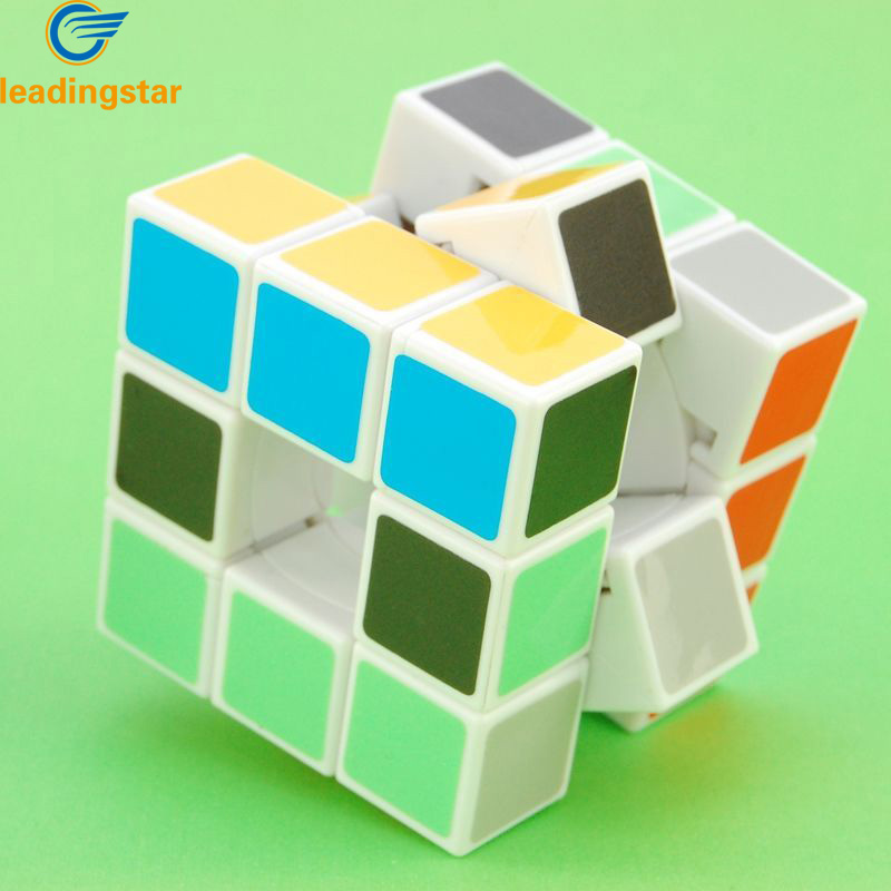 LeadingStar  Void Puzzle Speed Cube White 3rd order zk30