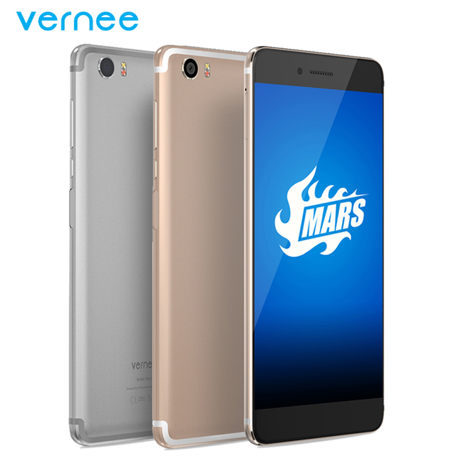 "Original Vernee Mars 4G LTE Mobile Phone 4G RAM 32G ROM MT6755 Octa Core 5.5"" Camrea 13.0MP Android 6.0 Fingerprint Smartphone"