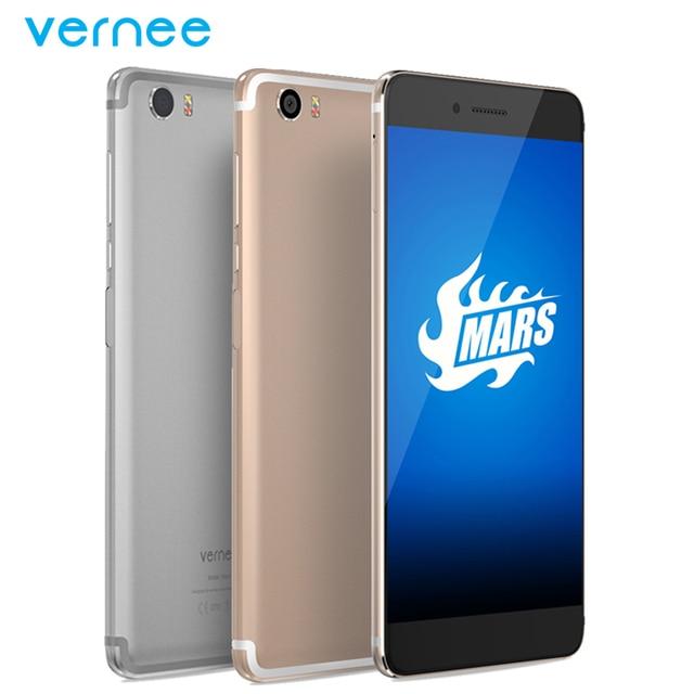 "Original Vernee Mars 4G LTE Mobile Phone 4G RAM 32G ROM MT6755 Octa Core 5.5"" Camrea 13.0MP Android 6.0 Fingerprint Smartphone"