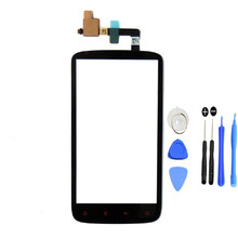original Front Outter Digitizer Touch Screen Glass Lens Sensor Repair Replacement Parts For HTC Sensation XE G18 Z715e+tools