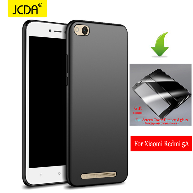 sale retailer a53f9 8ac2a US $4.99 |Xiaomi Redmi 5A Case JCDA 360 Degree Full Cover Luxury PC  Protective Back Cover For Xiaomi Redmi 5A glass tempered redmi 5a case-in  Fitted ...