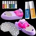 Beauty DIY Nail Art stamping printing machine Colors Drawing Nail Printer + 7nail polish +6Nail Image Plate with retail box