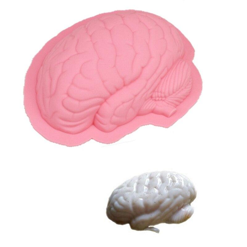 Nový kreativní tvar mozku dort forma silikonová forma pudink DIY dort zdobení dort forma dort pečení nástroje