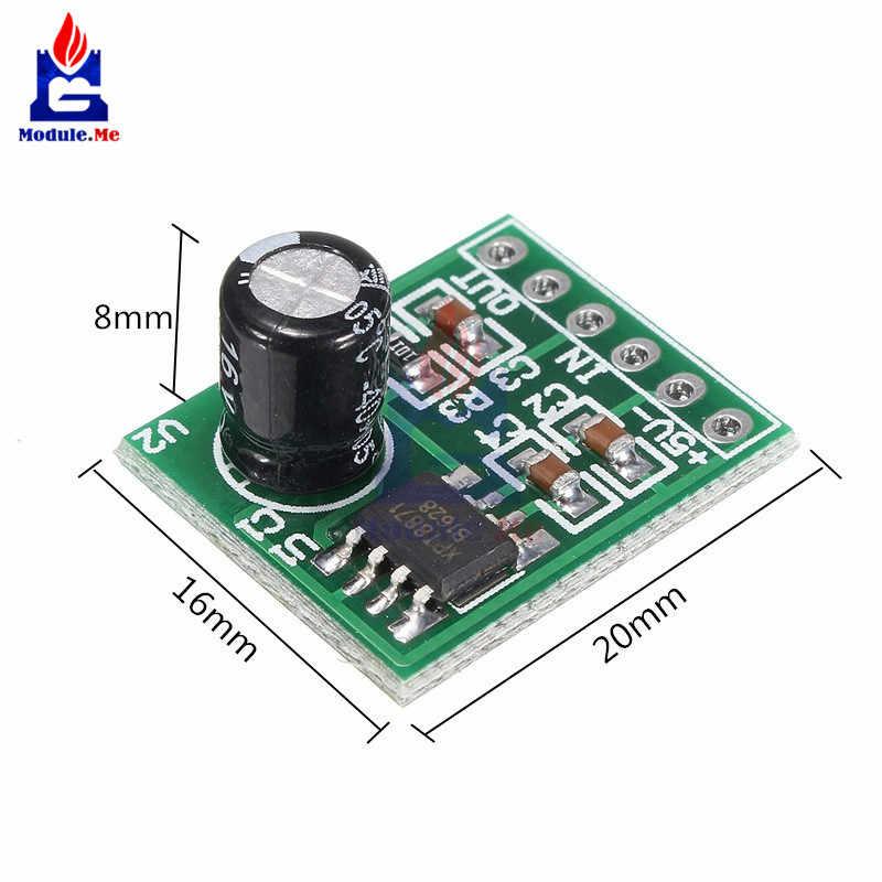 Mini XH-M125 XPT8871 Mono stéréo batterie au Lithium amplificateur de puissance Module carte sortie Audio entrée 6 W chanter Module de Machine 3 V 5 V 5 W
