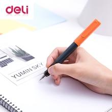 Deli 0.38mm pen Fashion plastic case JiaoZi pen metal gift tool school office supplies stationery pen multifunction A905-1 2 deli 2018 metal fountain pen school