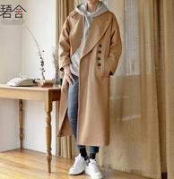 S 3XL! в осенние и зимние Новинка шерстяная ткань пальто мужские корейское издание молодой человек пальто