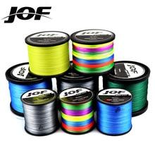 JOF 9 прядей, 8 прядей, 1000 м, 500 м, 300 м, ПЭ плетеная леска, tresse peche, соленая плетеная леска