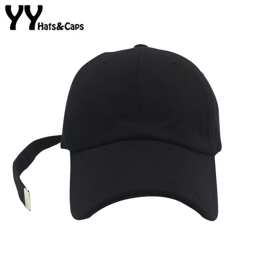 Cotton Snapback Caps With Long Strapback Baseball Cap Fashion Kpop Hat Men Women Polo Hat Gorras Bone Casquette YY60514 2016 feammal new rose floral embroidered casquette polos baseball caps cotton strapback black pink rose for women sport cap