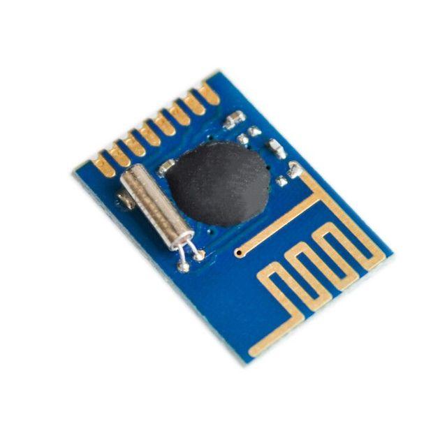 10pcs/lot Similar NRF24L01 + 2.4G wireless module 1.27 SMD