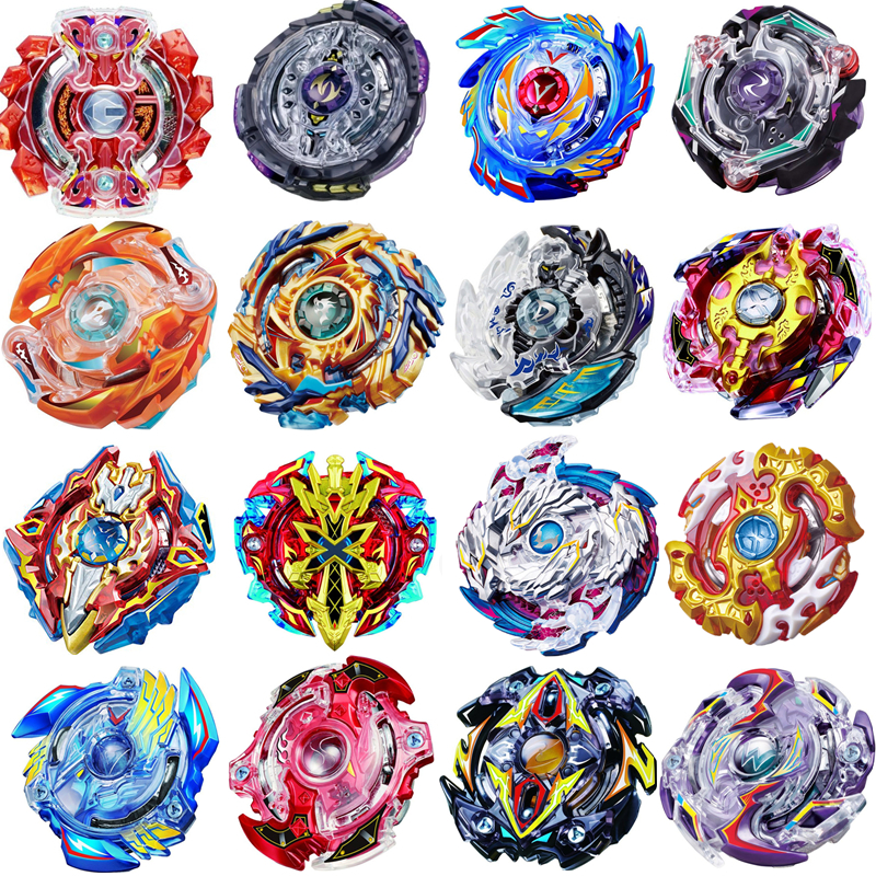 19 style New Spinning Top Beyblade BURST With Launcher And Original Box Metal Plastic Fusion 4D