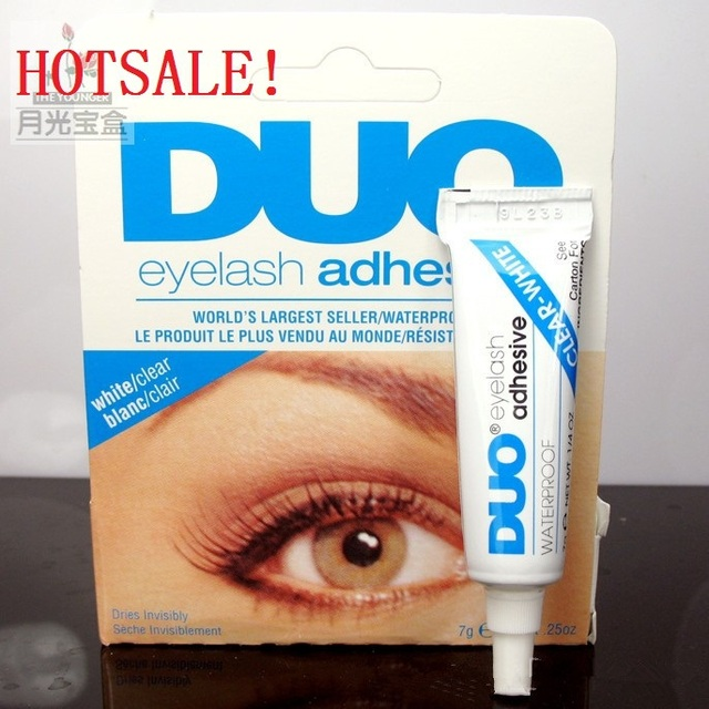 DUO Professional Waterproof Clear Adhesive Brand Eyelash Glue 9g Dries  Invisibly Good quality Individual Packed Eye