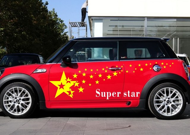 Car Stars For Mini Truck Decal Vinyl Graphics Art Tattoo Decor - Truck decals and graphics
