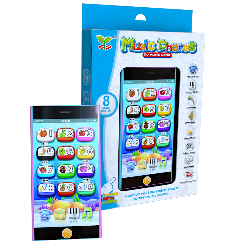 Multifunctional Mobile Phone Toys,smart Touch Screen Learning Machines,educational Learning Toy Phone With Projection Learning & Education Toys & Hobbies